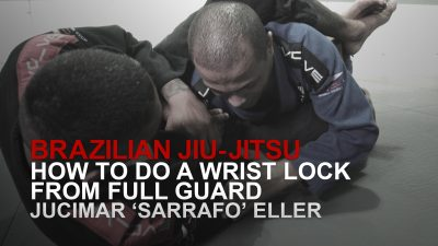 How To Do A Wrist Lock From Full Guard