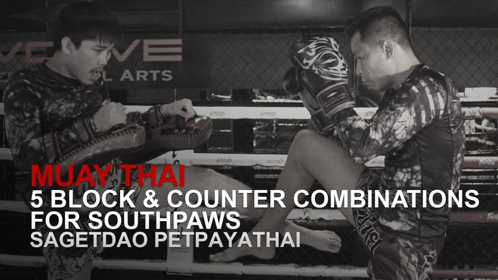 5 Block & Counter Combinations For Southpaws
