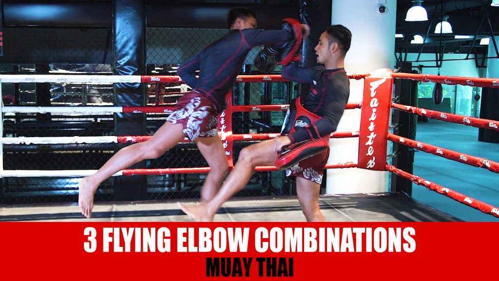 3 Flying Elbow Combinations