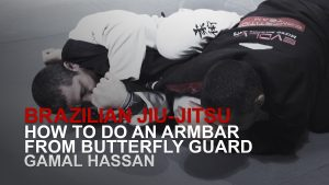 How To Do An Armbar From Butterfly Guard
