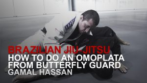 How To Do An Omoplata From Butterfly Guard
