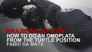 How To Do An Omoplata From The Turtle Position
