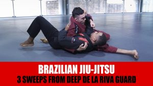 3 Sweeps From Deep De La Riva Guard