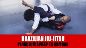 Pendulum Sweep To Armbar