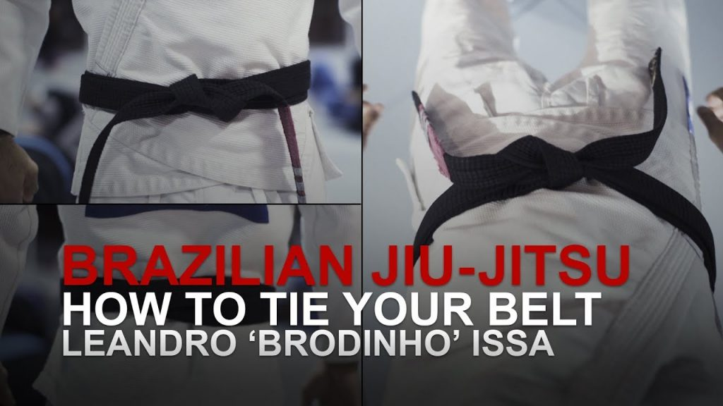 How To Tie Your Brazilian Jiu-Jitsu Belt
