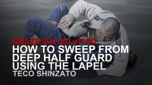 How To Sweep From Deep Half Guard