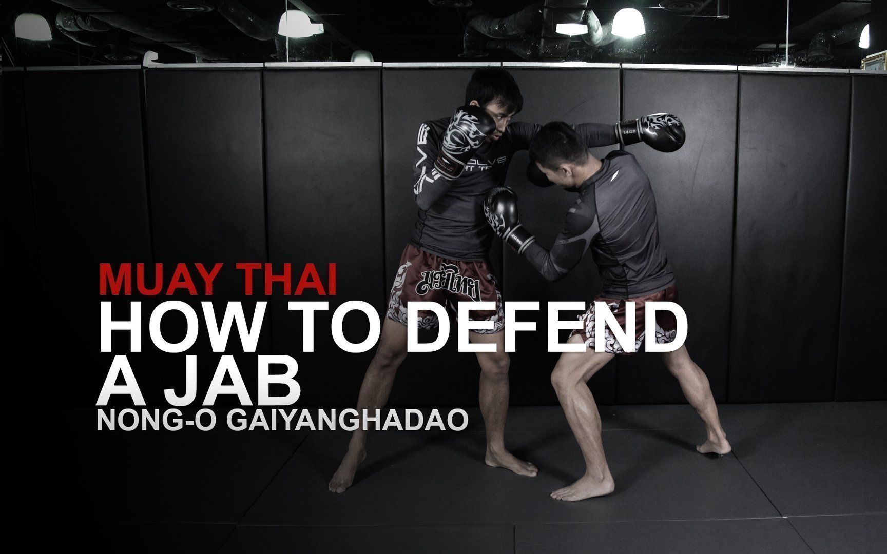 Here's How To Defend The Jab In Muay Thai