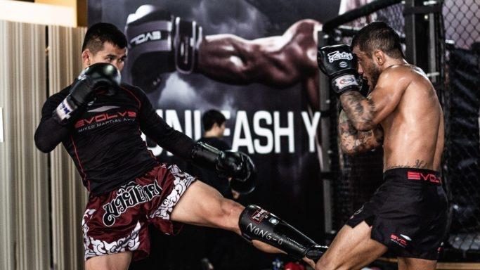 Utilizing The Inside Leg Kick In Muay Thai