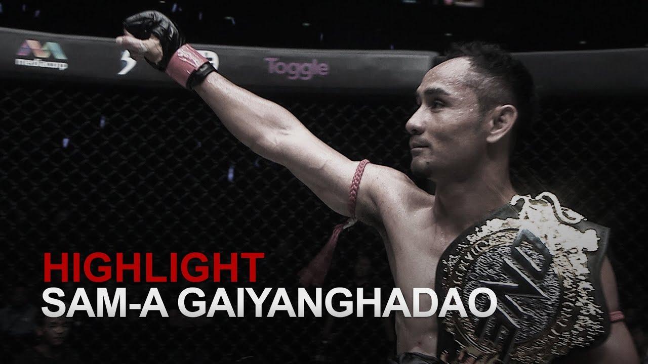 WATCH: Sam-A Gaiyanghadaogym's 4 Most Exciting Fights (Videos)