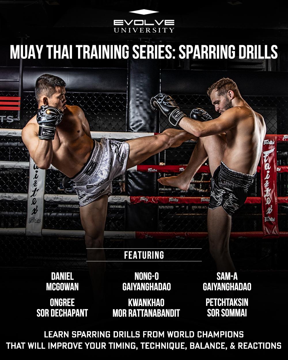 Muay Thai Training Series: Sparring Drills