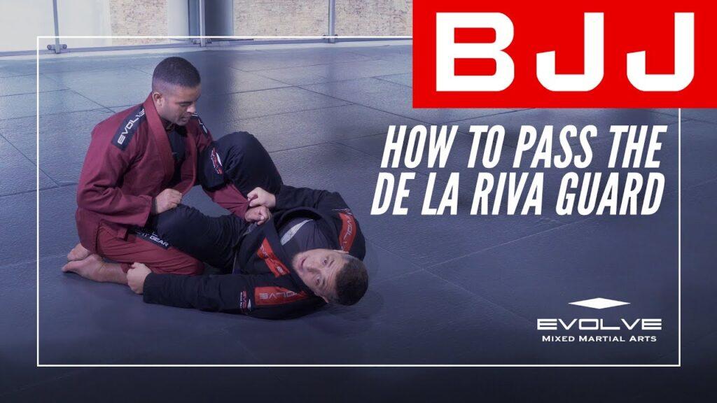 How To Pass The De La Riva Guard In BJJ